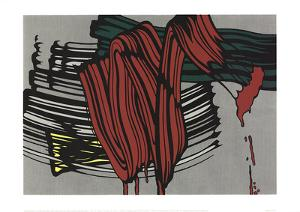 Big Painting #6 by Roy Lichtenstein