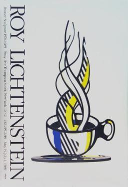 Cup and Saucer by Roy Lichtenstein