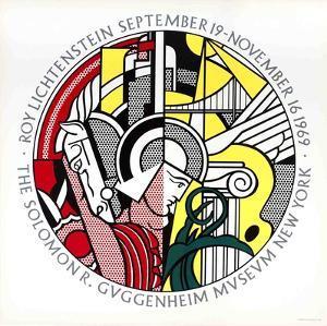 Guggenheim Museum by Roy Lichtenstein