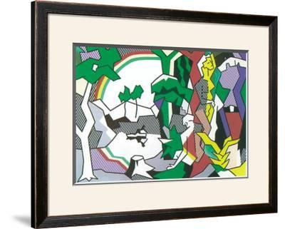 Landscape with Figures, 1980 by Roy Lichtenstein