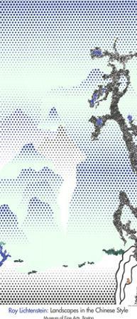 Landscape with Philosopher by Roy Lichtenstein