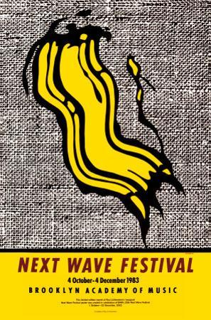 New Wave Festival by Roy Lichtenstein