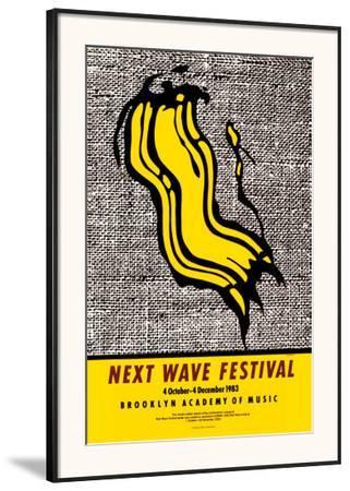 New Wave Festival by Roy Lichtenstein