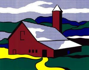 Red Barn II, 1969 by Roy Lichtenstein