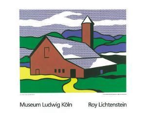 Red Barn II, 1969 by Roy Lichtenstein