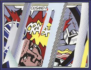 Reflections on Crash by Roy Lichtenstein
