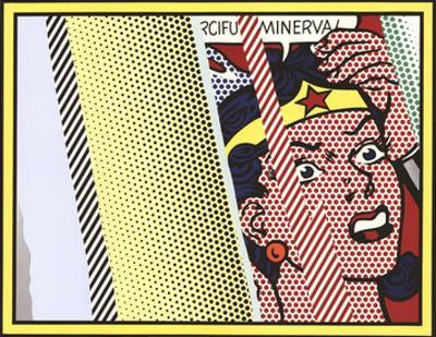 Reflections on Minerva by Roy Lichtenstein