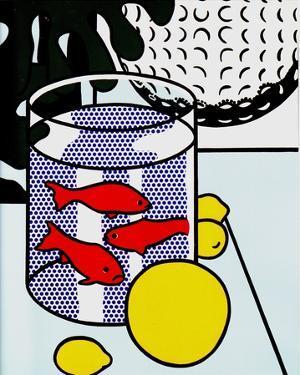 Still Life with Goldfish Bowl by Roy Lichtenstein