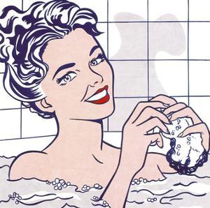 Woman in a Bath by Roy Lichtenstein
