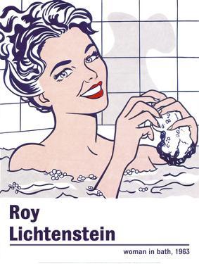 Woman in a Bath by Roy Lichtenstein