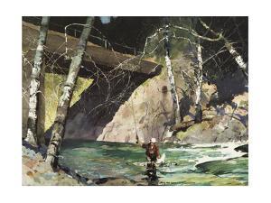 Fishing Retreat I by Roy M. Mason