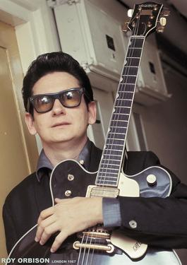 Roy Orbison- Gretsch Guitar, London 1967