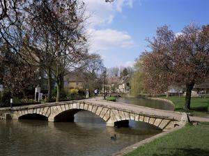 Bourton-On-The-Water, Gloucestershire, the Cotswolds, England, United Kingdom by Roy Rainford