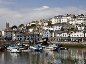 Brixham Harbour, South Devon, England, Uk by Roy Rainford
