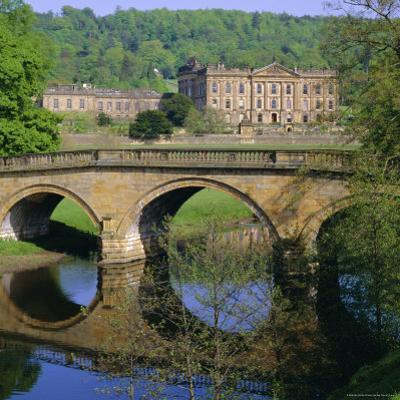 Chatsworth House, Derbyshire, England, UK by Roy Rainford
