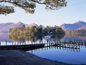 Derwent Water from Keswick, Lake District, Cumbria, England, United Kingdom by Roy Rainford