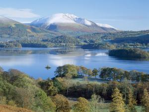 Derwent Water, with Blencathra Behind, Lake District, Cumbria, England, UK by Roy Rainford