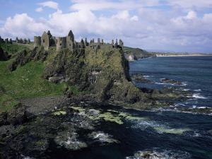 Dunluce Castle, County Antrim, Northern Ireland, United Kingdom by Roy Rainford