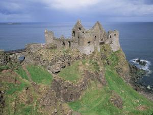 Dunluce Castle, County Antrim, Ulster, Northern Ireland, United Kingdom by Roy Rainford