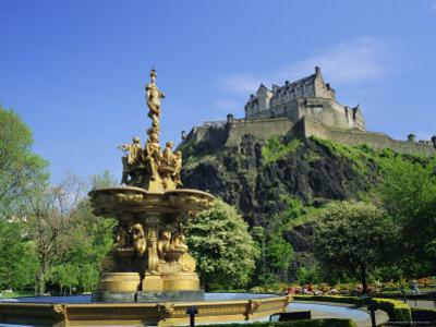 Edinburgh Castle, Edinburgh, Lothian, Scotland, UK, Europe by Roy Rainford