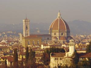 Florence Skyline, Tuscany, Italy by Roy Rainford