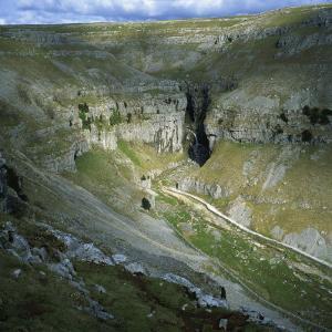 Gordale Scar, Yorkshire Dales National Park, North Yorkshire, England, United Kingdom, Europe by Roy Rainford