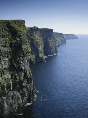Ireland, County Clare, Cliffs of Moher by Roy Rainford