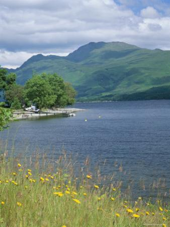 Loch Lomond and Ben Lomond from North of Luss, Argyll and Bute, Strathclyde, Scotland by Roy Rainford