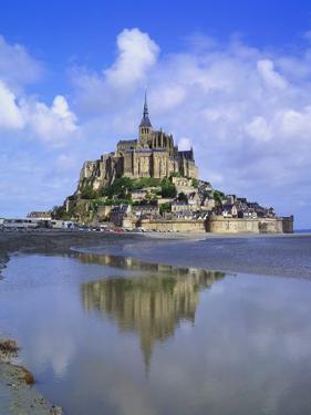Mont-Saint-Michel, Normandy, France by Roy Rainford