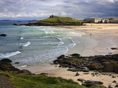 Porthmeor Beach, St. Ives, Cornwall, England, United Kingdom, Europe by Roy Rainford