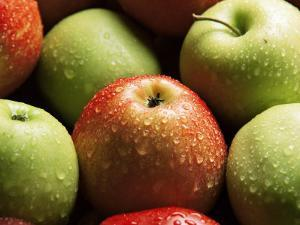 Red and Green Apples by Roy Rainford