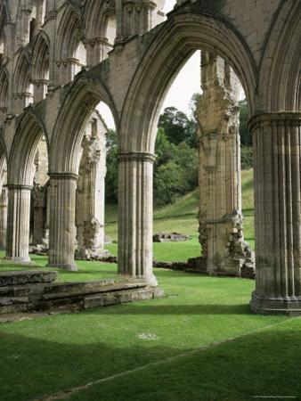 Rievaulx Abbey, North Yorkshire, England, United Kingdom by Roy Rainford