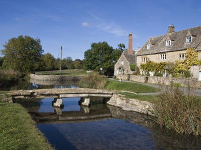 River Eye, Lower Slaughter Village, the Cotswolds, Gloucestershire, England, United Kingdom, Europe by Roy Rainford