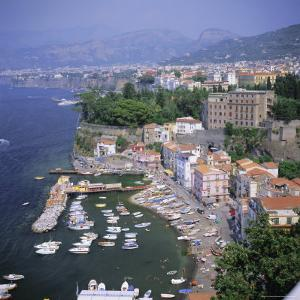 Sorrento, Costiera Amalfitana (Amalfi Coast), Unesco World Heritage Site, Campania, Italy, Europe by Roy Rainford