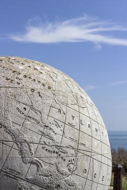 The Great Globe at Durlston Castle, Isle of Purbeck, Dorset, England, United Kingdom, Europe by Roy Rainford