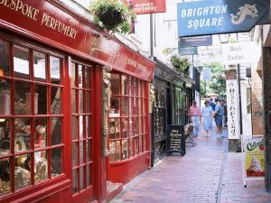 The Lanes, Brighton, East Sussex, England, United Kingdom by Roy Rainford