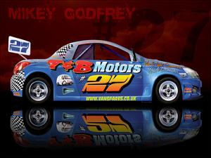 Mikey Godfrey 27 by Roy Scorer