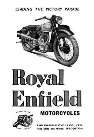 Royal Enfield Motorcycles: Leading the Victory Parade