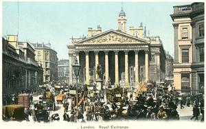Royal Exchange, London, England