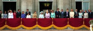 Royal Family on Queen Mother's 100th Birthday, Friday August 5, 2000