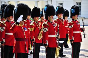 Royal Guards, London, South of England, United Kingdom of Great Britain