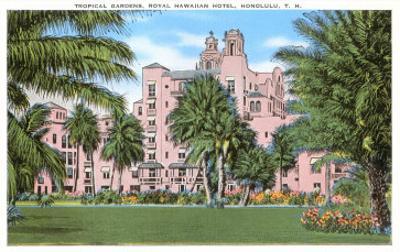 Royal Hawaiian Hotel, Honolulu, Hawaii