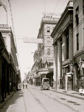 Royal St. from Canal St., New Orleans, La.