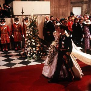 Royal Wedding of Prince Charles and Lady Diana Spencer at St Paul's Cathedral