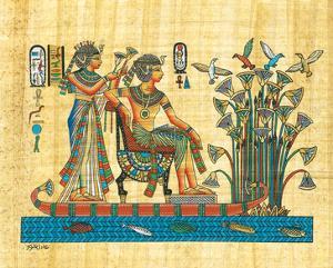 Royalty Cruising the Nile