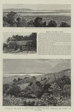 Royalty in the South of France, Views of Hyeres and Hotel Costebelle, the Residence of the Queen