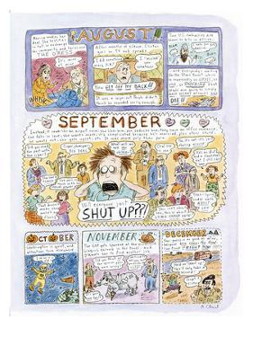 1998: A LOOK BACK - New Yorker Cartoon by Roz Chast