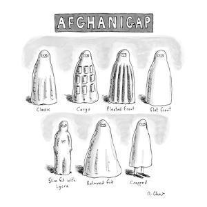 AfghaniGap - New Yorker Cartoon by Roz Chast
