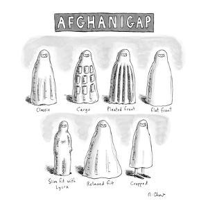 AfghaniGap - New Yorker Cartoon by Roz Chast