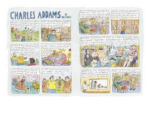 Charles Addams - New Yorker Cartoon by Roz Chast